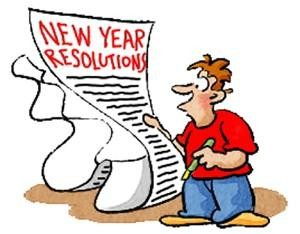 New Year's Resolution- Plan for Future